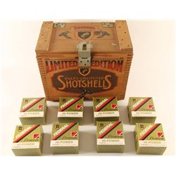 Wood Gunner's Box & Federal DU Shells