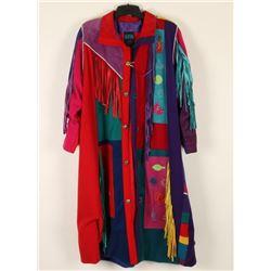 Southwest Style Ladies Long Coat