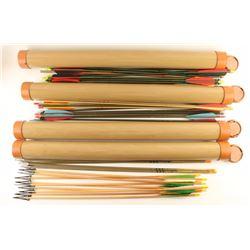 Large Lot of Archery Arrows