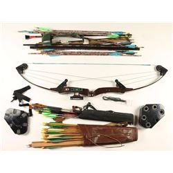 Bear White Tail Hunter Compound Bow