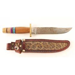 Custom Knife with Sheath