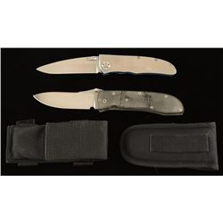Lot of 2 Folding Knives