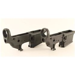 (2) Bushmaster XM-5-E2S AR Lower Receivers