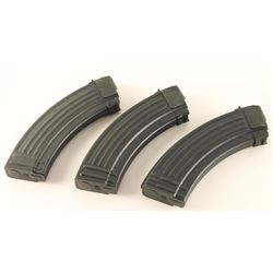 Lot of 3 AK 47 Mags