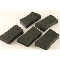 Lot of 5 HK Thermold 308 Mags