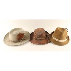 Collection of 3 Hats