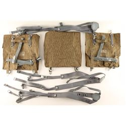 Three Pack of East German Camo Combat Packs