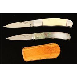 (2) Pocket Knives
