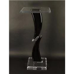 Modern Acrylic Bronze Stand