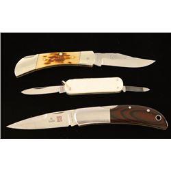 (3) Pocket Knives