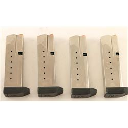 Lot of 4 S&W Mags