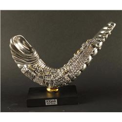 Jewish Silver Plated Horn