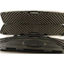 (2) Plastic Foam Lined rifle cases