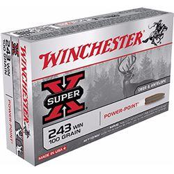 Winchester Super-X 243Win 100GR - 200 Rds