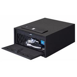 Stack-On QAS1512B Quick Access Safe Biometric Lock 10 x 12.15 x 8 Black