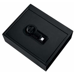 "Stack-On PS1505B Biometric Drawer Safe 13.78"" W x 8.62"" D x 4.37"" H Black"