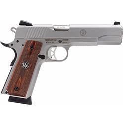 Ruger 6700 SR1911 Single 45 Automatic Colt Pistol (ACP) 5  8+1 Hardwood Grip Stainless Steel