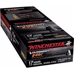 Winchester Supreme 17HMR 17GR V-Max - 500 Rounds