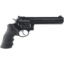 """Ruger 1704 GP100 Standard Single/Double 357 Magnum 6"""" 6 Hogue Monogrip Black Blued"""