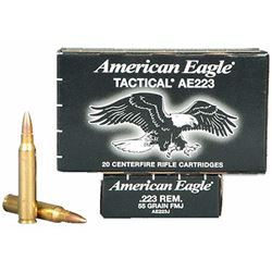 Federal American Eagle 223 Rem 55GR - 500 Rds