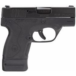 "Beretta JMN9S15 BU9 Nano Double 9mm Luger 3"" 6+1/8+1 AS Black Polymer Grip/Frame Black"