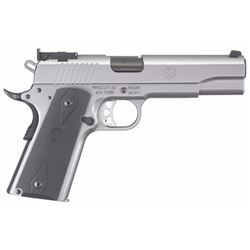 "Ruger 6739 SR1911 Single 10mm 5"" 8+1 Black Rubber Grip Stainless"
