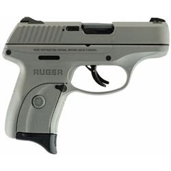 """Ruger 3252 LC9s Double 9mm Luger 3.12"""" 7+1 3-Dot Savage Stainless Cerakote Grip/Frame Grip Savage St"""