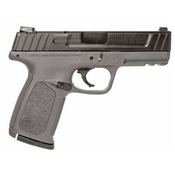 """Smith & Wesson 11995 SD Double 9mm Luger 4"""" 16+1 Black/Gray Polymer Grip Black Armornite Stainless S"""