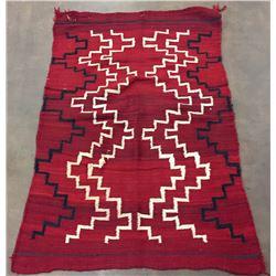 Early Ganado Red Navajo Textile