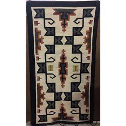Circa 1940s Navajo Textile
