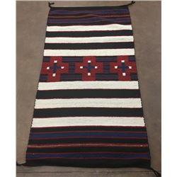 Chief's Pattern Navajo Rug by RG Sherman