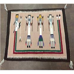 Yei Pattern Navajo Textile