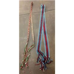 Pair of Navajo Dance Sashes