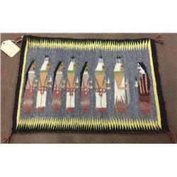 Very Fine Pictorial Navajo Textile
