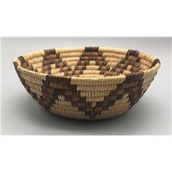 Polychrome Pima - O'odham Basket