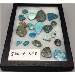 500 cts of Miscellaneous Turquoise