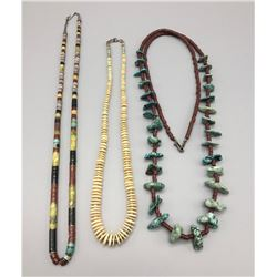 Group Of  3 Pueblo Style Necklaces