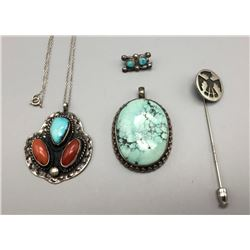 Miscellaneous Necklace Pendants And Pin