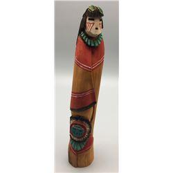 Navajo Wood Carving - Lansing