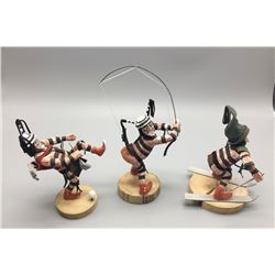 Group Of 3 Koshare Clowns