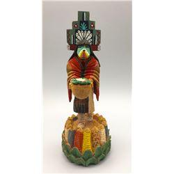 Detailed Navajo Wood Carving - Marvin Jim