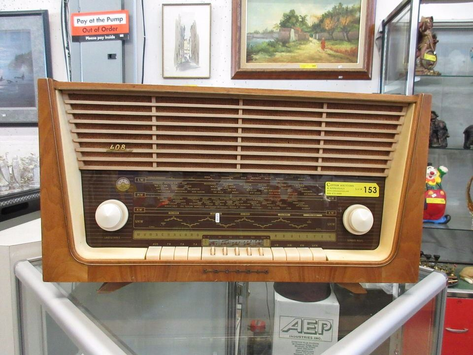 1950's German Grundig 408 Shortwave Radio
