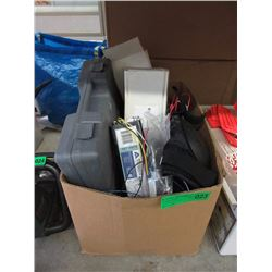 Box of Assorted Ballast Lights & More