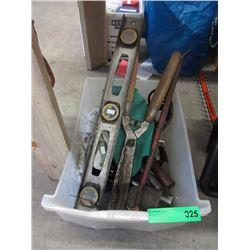 Bin of Assorted Tools