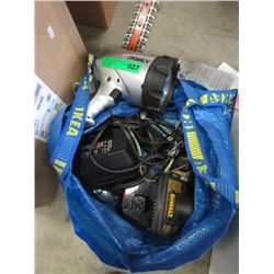 Bag of tool, lights & more