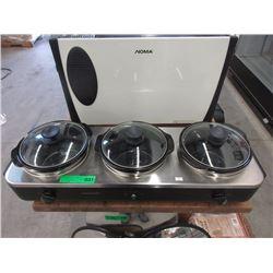 Triple Crock Pot