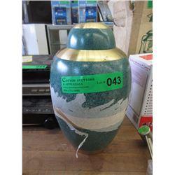 Brass & Enamel Cremation Urn