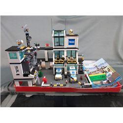 Lego Police Headquarter & 2 Trucks