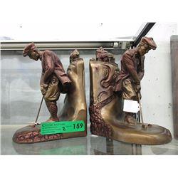 Pair of Austin Sculpture Bookends