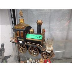 Vintage Musical Steam Engine Decanter Set